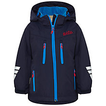 Buy Skogstad Boys' Lise 2-Layer Technical Jacket, Navy Online at johnlewis.com