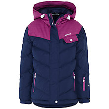 Buy Skogstad Padded Down Jacket, Navy/Purple Online at johnlewis.com