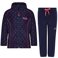 Buy Skogstad Microfleece Set, Navy Online at johnlewis.com