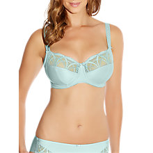 Buy Fantasie Alex Underwired Side Support Bra, Aqua Online at johnlewis.com
