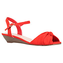 Buy Carvela Sparrow Suede Wedge Sandals Online at johnlewis.com