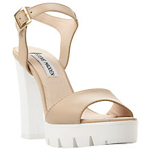 Buy Steve Madden Traviss Platform Block Heeled Sandals Online at johnlewis.com