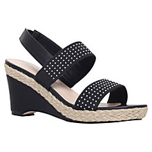 Buy Carvela Sassy Wedge Heeled Sandals Online at johnlewis.com