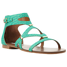 Buy Steve Madden Comly Flat Cut Away Sandals Online at johnlewis.com