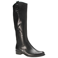 Buy Gabor Brook Medium Leather Knee High Boots Online at johnlewis.com