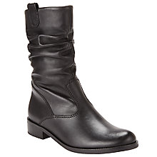 Buy Gabor Trafalgar Ruched Calf Boots Online at johnlewis.com