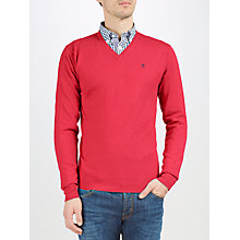 Buy Hackett London V Neck Jumper Online at johnlewis.com