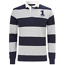 Buy Hackett London Block Stripe Rugby Jersey Online at johnlewis.com