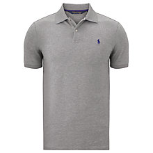 Buy Polo Golf by Ralph Lauren Solid Refined Stretch Mesh Polo Shirt Online at johnlewis.com