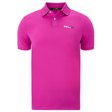 Buy Polo Golf by Ralph Lauren RLX Solid Pro Fit Polo Shirt Online at johnlewis.com