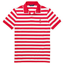 Buy Polo Golf by Ralph Lauren Performance Stripe Polo Shirt Online at johnlewis.com