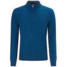 Buy Hackett Lambswool Half Zip Jumper Online at johnlewis.com
