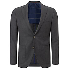 Buy Hackett London Wool Plain Flannel Blazer Online at johnlewis.com