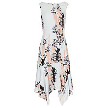 Buy Reiss Layered Summer Silk Dress, Multi Online at johnlewis.com
