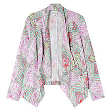 Buy East Kashmir Linen Jacket, Flamingo Online at johnlewis.com
