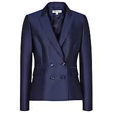 Buy Reiss 1971 Feather Jacket, Midnight Online at johnlewis.com