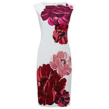 Buy Phase Eight Iona Placement Cotton Dress, Multi Online at johnlewis.com