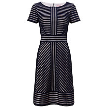 Buy Phase Eight Lorelei Dress, Navy/Beige Online at johnlewis.com