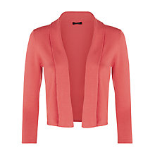 Buy Precis Petite Pleat Collar Shrug, Coral Online at johnlewis.com