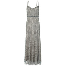 Buy Adrianna Papell Wedding Long Beaded Dress Online at johnlewis.com
