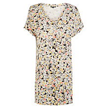 Buy Warehouse Ditsy Print T-Shirt, Multi Online at johnlewis.com