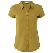 Buy White Stuff Dorothea Jersey Cotton Shirt, Green Online at johnlewis.com