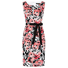 Buy Precis Petite Pique Floral Shift Dress, Multi Online at johnlewis.com
