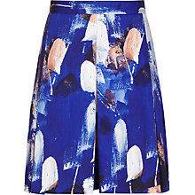 Buy Reiss Printed A-line Skirt, Serpentine Online at johnlewis.com