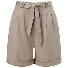 Buy Phase Eight Chiara Soft Shorts, Stone Online at johnlewis.com