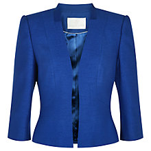 Buy Jacques Vert Edge to Edge Jacket, Electric Blue Online at johnlewis.com