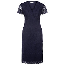 Buy Kaliko Galoon Lace Dress, Navy Online at johnlewis.com