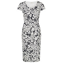 Buy Kaliko Daisy Print Shift Dress, Navy Online at johnlewis.com