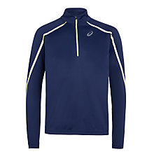 Buy Asics Lite-Show Long Sleeve Running Top, Indigo Online at johnlewis.com