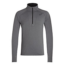 Buy Asics Long Sleeve 1/2 Zip Running Top, Dark Grey Online at johnlewis.com