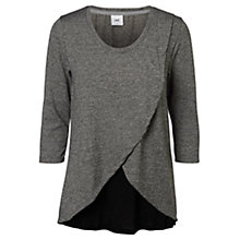 Buy Mamalicious Jaden Tess Maternity Nursing Top, Grey Online at johnlewis.com