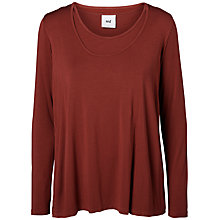 Buy Mamalicious Jersey Nursing Maternity Top, Rosewood Online at johnlewis.com