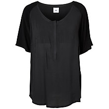 Buy Mamalicious Elena Lia Maternity Nursing Top, Black Online at johnlewis.com