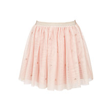 Buy John Lewis Girls' Mesh Skirt, Pink Online at johnlewis.com