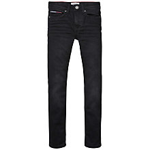 Buy Tommy Hilfiger Boys' Scanton Slim Jeans, Black Online at johnlewis.com