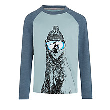 Buy John Lewis Boy's Polar Bear Ski Top Online at johnlewis.com