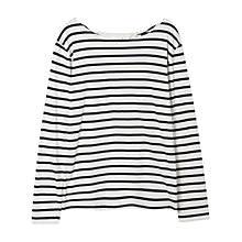 Buy Seasalt Sailor T-shirt, Ecru Online at johnlewis.com