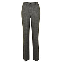 Buy Gardeur Kayla Check Trousers, Grey Online at johnlewis.com