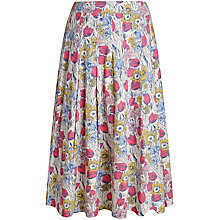 Buy Seasalt Sea Mist Skirt, Bulb Mania Multi Online at johnlewis.com