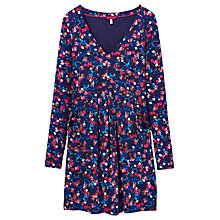 Buy Joules Womens Empire Line Jersey Tunic Dress, Navy/Petal Online at johnlewis.com