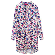 Buy Joules Pop Over Shirt Tunic Dress, Porcelain Petal Online at johnlewis.com