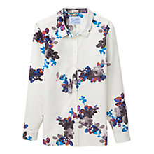 Buy Joules Kingston Shirt, Cream Floral Online at johnlewis.com