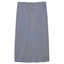 Buy Joules Stripe Jersey Skirt, Blue Online at johnlewis.com