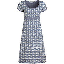 Buy Seasalt Morvoren Print Dress, Autumn Woodcut Kea Plum Online at johnlewis.com