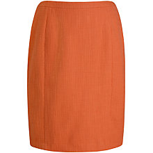 Buy Seasalt Bunker Lined Skirt, Flame Online at johnlewis.com