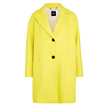 Buy Weekend by MaxMara Afoso Coat, Yellow Online at johnlewis.com